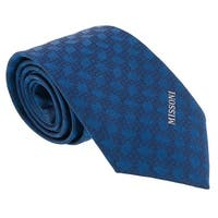 Missoni Abstract Blue Woven 100% Silk Tie - 60-3