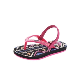Roxy TW Pebbles Printed Toddler Girl Sandals