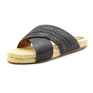 Dolce Vita Genivee 2 Women Open Toe Leather Slides Sandal