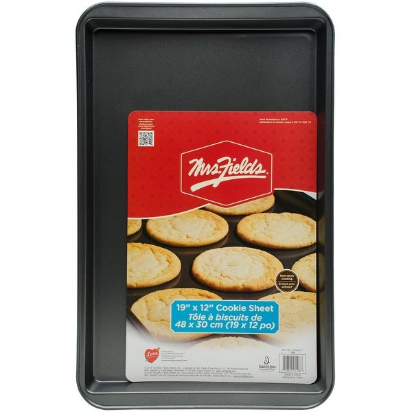 "Mrs. Fields(TM) Large Cookie Sheet-19""X12"""