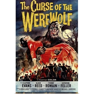 """""""The Curse of the Werewolf (1961)"""" Poster Print"""