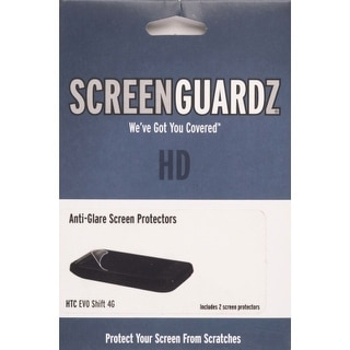 BodyGuardz Anti-glare ScreenGuardz+HD Screen Protector for HTC EVO Shift 4G (2 p