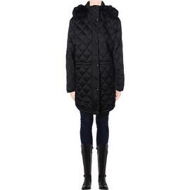 Lauren Ralph Lauren Womens Plus Quilted Down Puffer Coat - 1X
