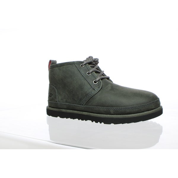 0683d5df80f Shop UGG Mens Neumel Charcoal Ankle Boots Size 5 - On Sale - Free ...