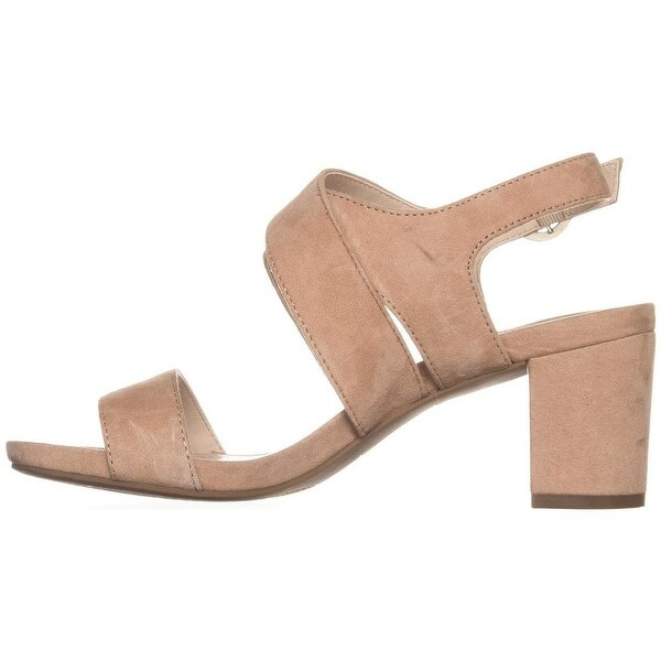 Alfani Womens Regann Leather Open Toe Casual Ankle Strap Sandals
