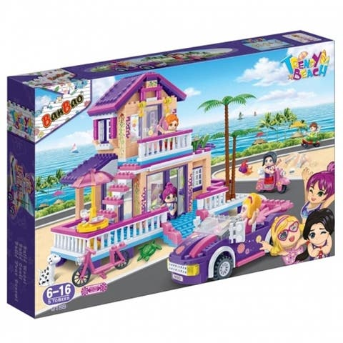 BanBao Interlocking Blocks Trendy Beach House 6122 (565 Pcs)