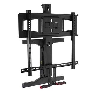 """Mount-It! TV Mount Full Motion Pull Down Mantel TV Bracket with Height Adjustment Fits 40-70"""" TVs 70lbs Capacity - (MI-361)"""