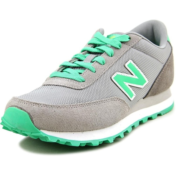 New Balance WL501 Women Round Toe Suede Gray Running Shoe
