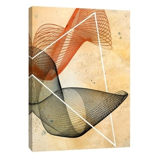 """PTM Images 9-108482  PTM Canvas Collection 10"""" x 8"""" - """"Spectrum 3"""" Giclee Abstract Art Print on Canvas"""