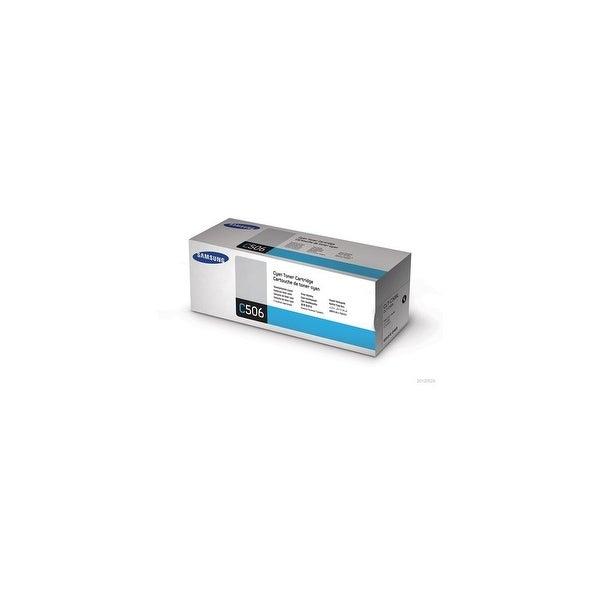 Samsung CLT-C506L High Yield Cyan Toner Cartridge Toner Cartridge