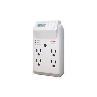 APC DM4392 W APC P4GC 4 Outlet Wall Tap/120V Power-Saving Timer Essential SurgeArrest