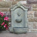 Sunnydaze Marina Outdoor Wall Fountain - Thumbnail 7