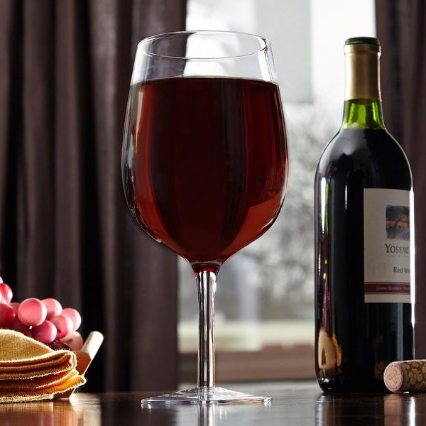 Shop Extra Large Giant Wine Glass On Sale Free Shipping On