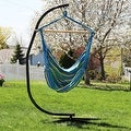 Sunnydaze Jumbo Hanging Chair Hammock Swing - Thumbnail 14