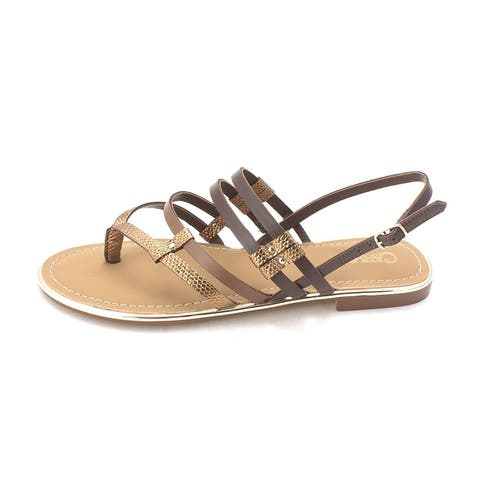 Carlos by Carlos Santana Womens Diego Open Toe Casual Slingback Sandals