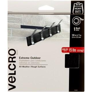 "Velcro(R) Brand Extreme Outdoor Tape 1""X10'-Black"