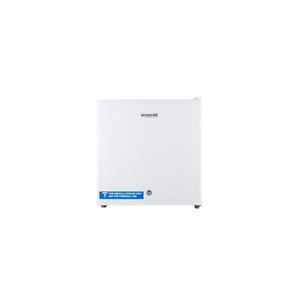 Summit FS24L7 AccuCOLD 1.4 Cu.Ft. Commercial Compact Freezer FS24L7 with Manual Defrost - White