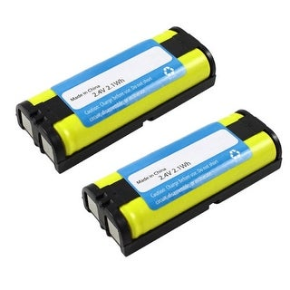 Replacement Battery For Panasonic P105 / P105A Battery Models (2 Pack)