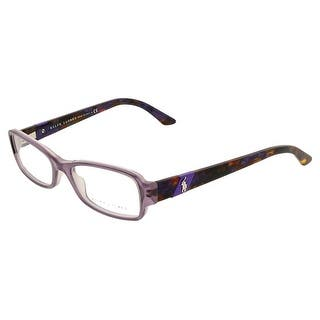 Ralph LaurenRL 6075 5306 Lilac Rectangular Optical Frame - 50-16-140|https://ak1.ostkcdn.com/images/products/is/images/direct/8a522eb4c5c2d1fee9a1ec773849cf94688b64d1/Ralph-LaurenRL-6075-5306-Lilac-Rectangular-Optical-Frame.jpg?impolicy=medium