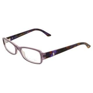 Ralph LaurenRL 6075 5306 Lilac Rectangular Optical Frame - 50-16-140