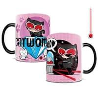 DC Comics Justice League Chibi Catwoman Heat-Sensitive Mug