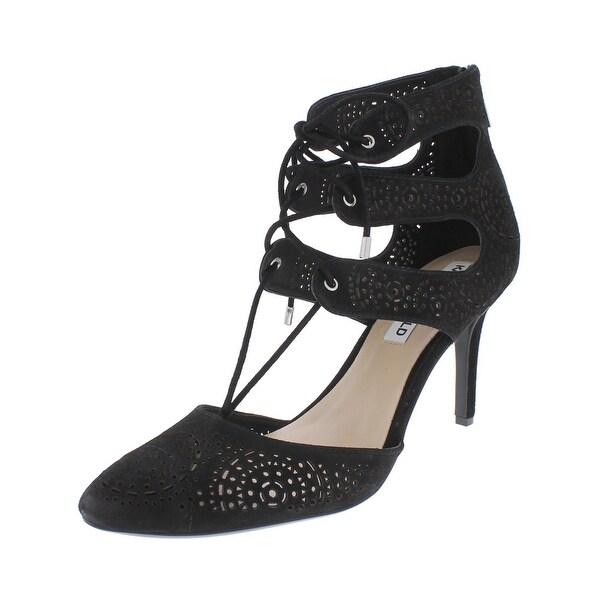 Karl Lagerfeld Paris Womens Joslyn Dress Heels Strappy Almond Toe
