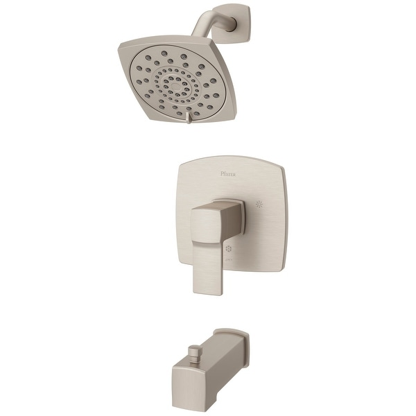 Pfister LG89-8DA Deckard Tub and Shower Trim Package with Multi Function Shower Head