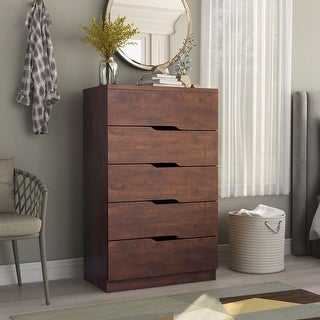 Link to Furniture of America Marlone Contemporary 5-drawer Chest Similar Items in Dressers & Chests