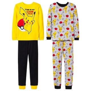 Pokemon Pikachu Hero Poke 4-Piece Pajama Set