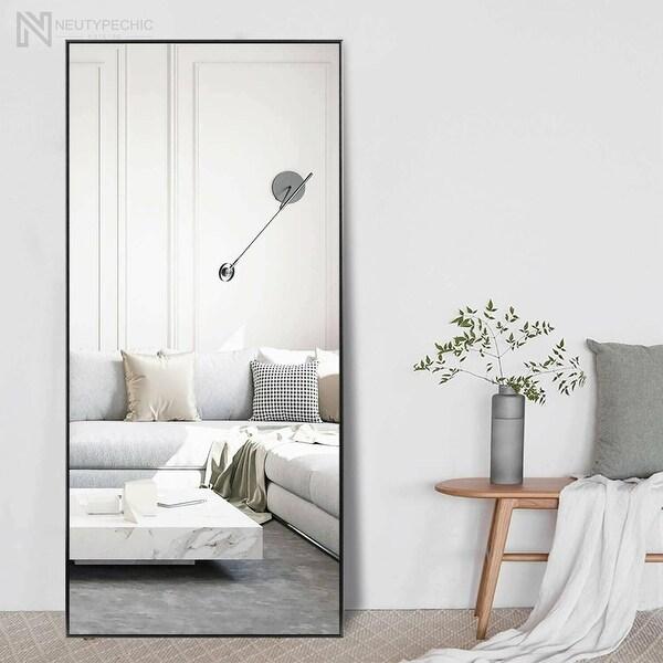 Neutypechic Huge Modern Framed Full Length Floor Mirror. Opens flyout.