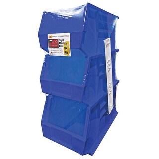Quantum RQUS240BL Storage Stack and Hang Bin, Blue, 60 Lbs