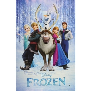 Idina Menzel Disneys Frozen 24x36 Movie Poster
