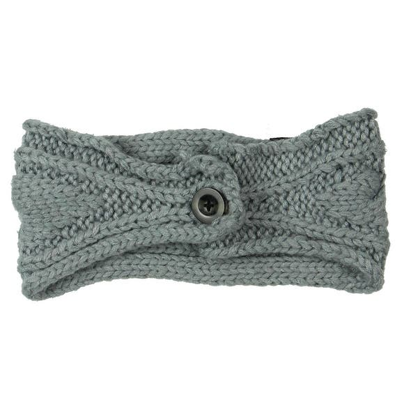 732a66672c6ce Shop The North Face Womens Chunky Ear Warmers Cable Knit Winter ...