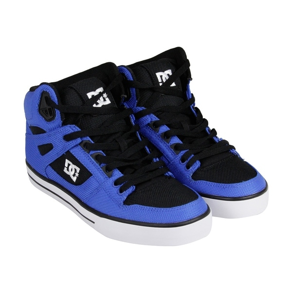 146edee8ecc DC Spartan High WC TX Mens Black Textile High Top Lace Up Sneakers Shoes