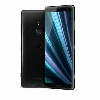 "Sony Xperia XZ3 Unlocked Phone 6.0"" OLED Screen 64GB (Black) - black"
