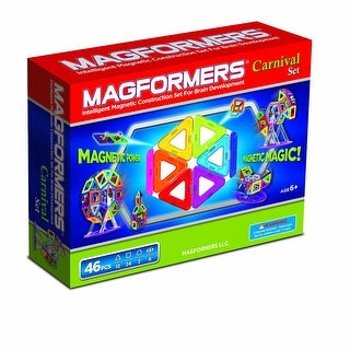 Magformers Magnetic Carnival 46 Piece Set