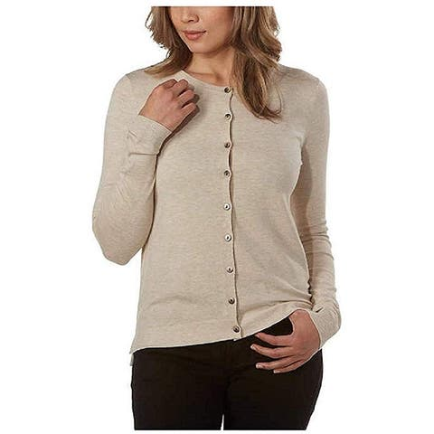 Kirkland Signature Ladies' Button Up Closure Soft Handfeel Cardigan
