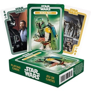 Link to Star Wars Boba Fett Playing Cards - Multi Similar Items in Casino Games