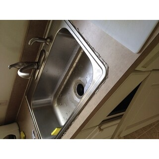 Stainless Steel Top Mount Drop-in Single Bowl Kitchen Sink