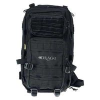 Drago gear 14301bl drago tracker backpack black 4-main storage area heavy duty