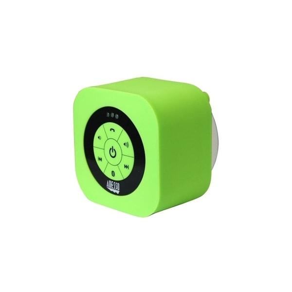 Adesso XTREAMS1G Adesso Xtream Xtream S1G Speaker System - Wireless Speaker(s) - Green - 150 Hz - 20 kHz - 30 ft - Bluetooth -