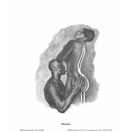 ''Passion'' by William Reynolds African American Art Print (30 x 24 in.)