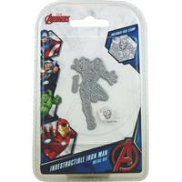 Marvel Avengers Die And Face Stamp Set-Avengers Indestructible Iron Man
