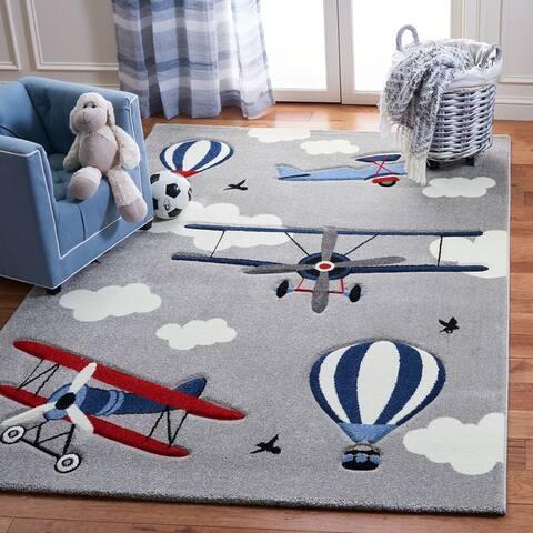 Safavieh Carousel Kids Turi Airplane Rug
