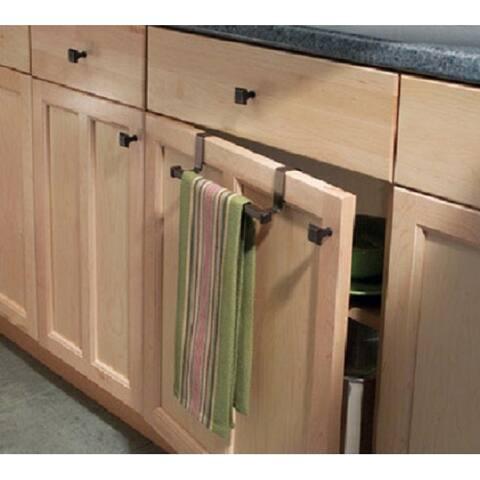 InterDesign 33771 Marcel Over The Cabinet Towel Bar, Bronze