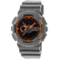 Casio Men's G-Shock GA110TS-1A4 Dark Grey Resin Quartz Sport Watch
