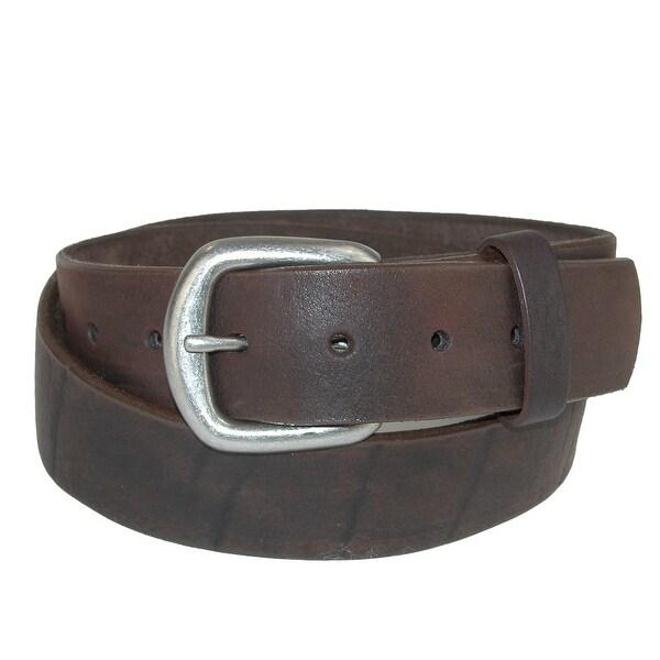 Boston Leather Men's Sasquatch Flexible Leather Belt