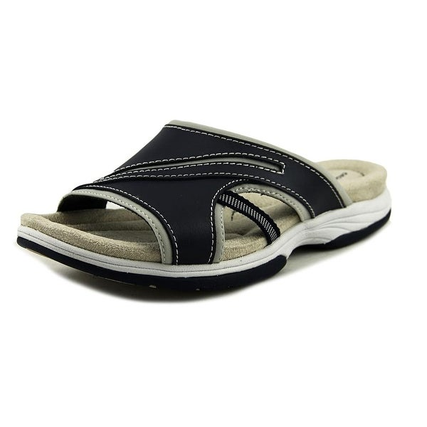 Easy Street Fellow Women Navy Sandals
