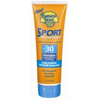 Banana Boat 14971 Sport Performance Sunscreen Lotion, SPF 30, 8 Oz