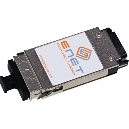 """ENET SMCBGLSCX1-ENC SMC Compatible SMCBGLSCX1 1000BASE-LX/LH GBIC 1310nm 10km Duplex SC MMF/SMF 100% Tested Lifetime warranty"